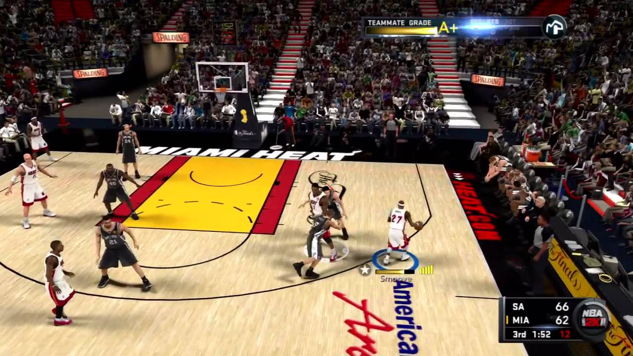 NBA 2K11 My Player Playoffs - NFG5 - Without Wade - YouTube