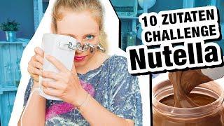 10 Zutaten Challenge | Nutella Cookies 🍪