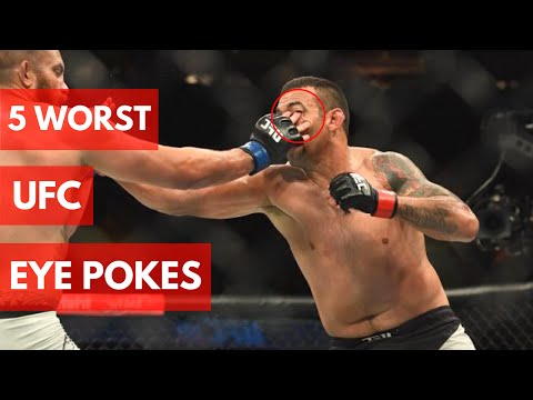 5 Worst UFC Eye Pokes Ever