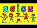 Las Mejores Canciones de las Vocales - A E I O U - Videos Infantiles Educativos #