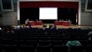 Cerf Reassures Nearly Empty Auditorium That Newark's School Budget is in Order