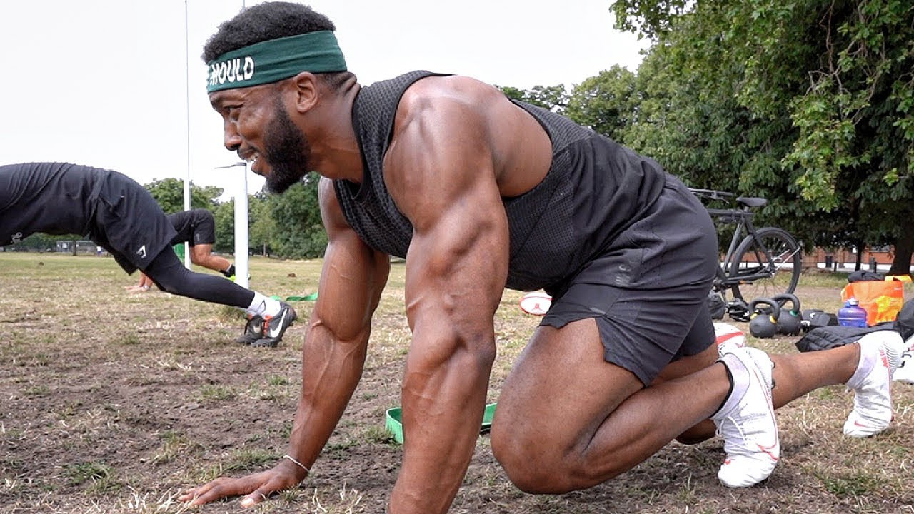 EXPLOSIVE WORKOUT| Pro Rugby Training