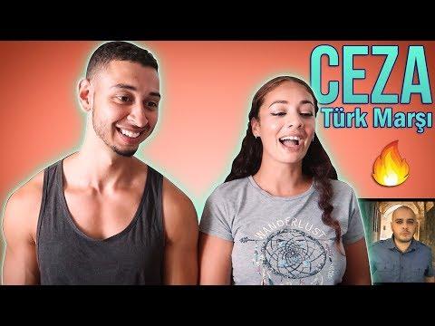 CEZA Türk Marşı (Turkish March)🇹🇷 Turkish Rap Reaction | Jay & Rengin