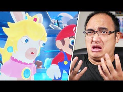 DE LA NEIGE DANS LE DÉSERT ?! | Mario + Lapins Crétins Kingdom Battle #10