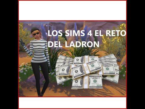 los sims4 reto del ladron