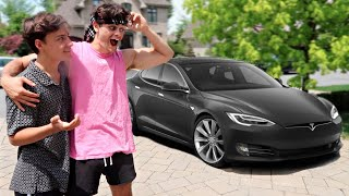 SURPRISING MY FUTURE HUSBAND WITH HIS DREAM CAR!! (Emotional)