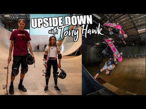 Upside Down with TONY HAWK! Skating before Quarantine!