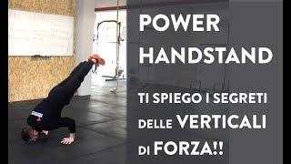 Power Handstand PT1 - Verticali di Forza i primi esercizi