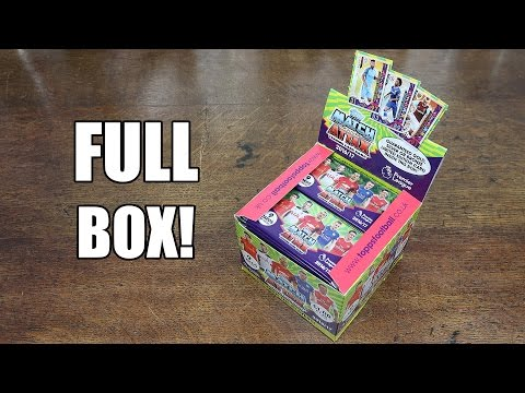 Match Attax 2016/17 FULL BOOSTER BOX OPENING! 50 PACKS!