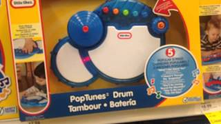 "LITTLE TIKES ""Pop Tunes Drum"" Demo and Review"