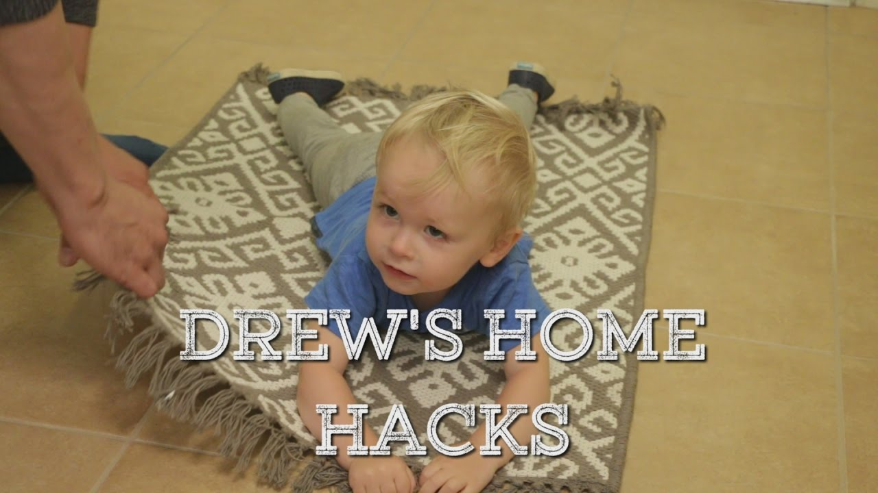 Drew Scott S Home Hacks How To Stop Your Area Rug From Slipping