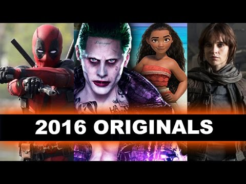 Top Ten Movies 2016 - Suicide Squad, Deadpool, Moana, Star Wars Rogue One - Beyond The Trailer