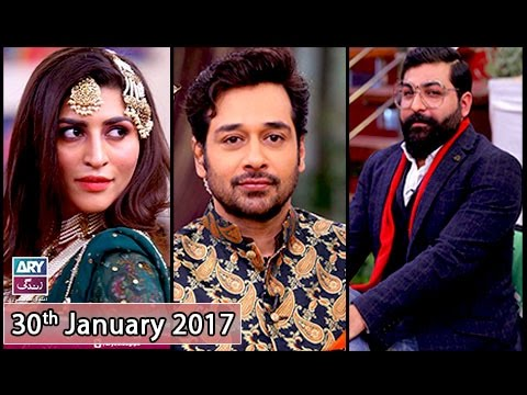 Salam Zindagi - Guest: Designer Ali Xeeshan & Model Jiya Ali - 30th January 2017
