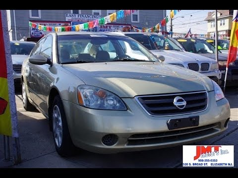 Cars For Sale Nj >> 2002 Nissan Altima 2 5s Used Car For Sale Elizabeth New Jersey