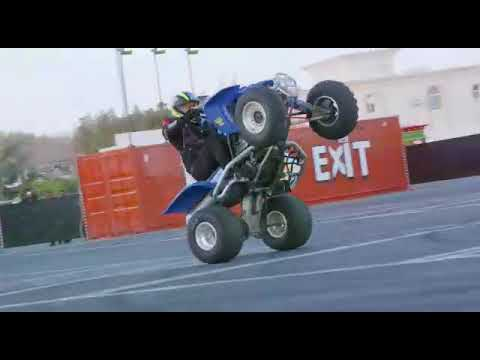 Stunt Show at Drive In Doha
