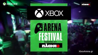 Xbox Arena Festival powered by ΠΛΑΙΣΙΟ