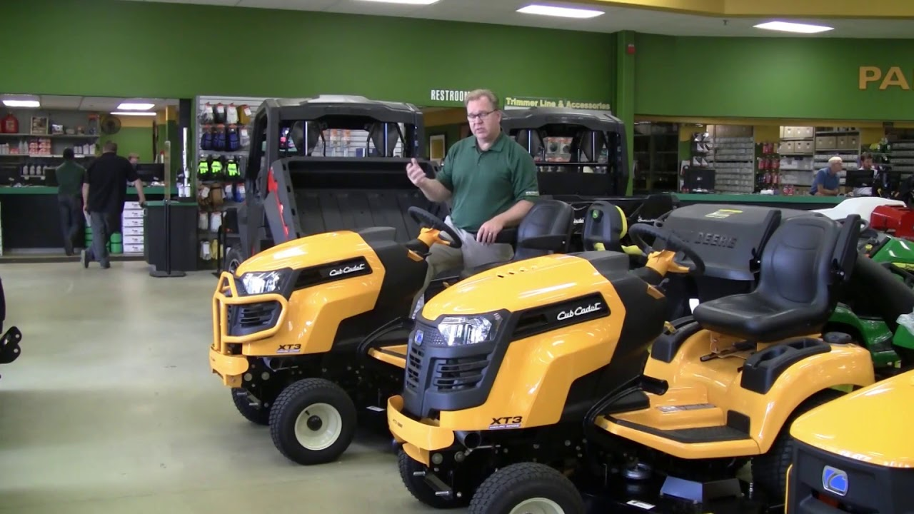 Buyer's Guide to Cub Cadet Enduro XT3 Garden Tractors