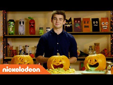 Halloween Hacks | Creating Puking Pumpkins w/ Jack Griffo | Nick