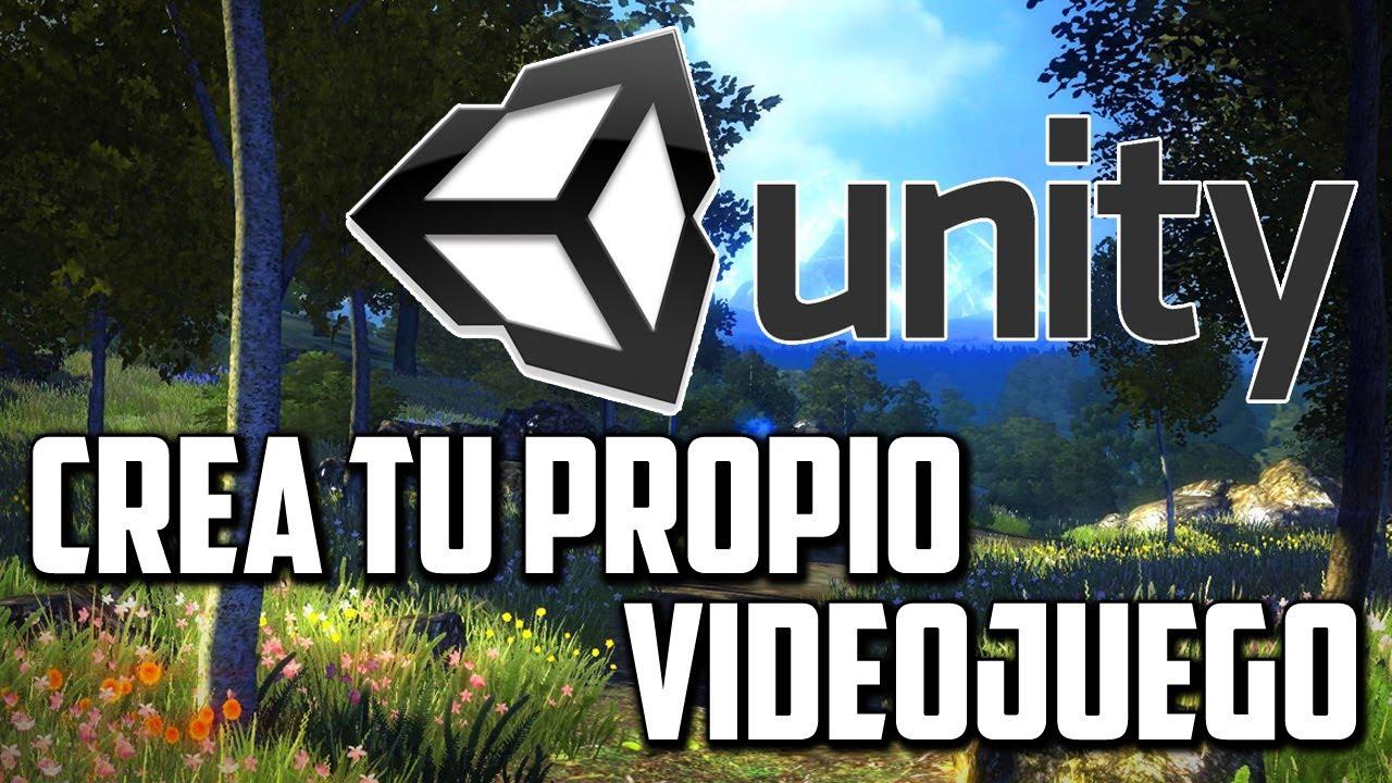 crea t propio videojuego unity 3d youtube