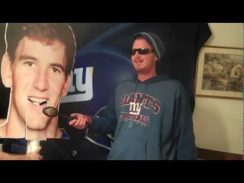 Eli's Interview after win against the browns