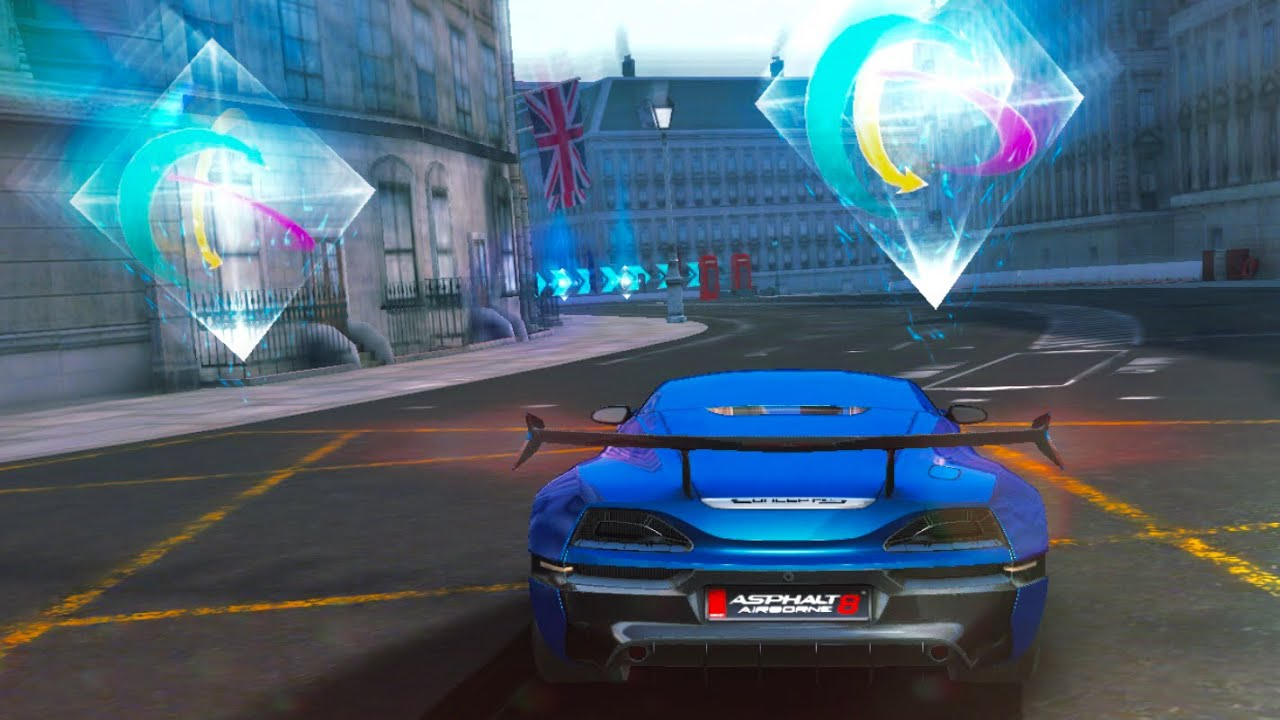 Asphalt 8, SHOWDOWN Multievent, Tuesday & Wednesday, Mercedes SLS AMG & Rimac Concept S