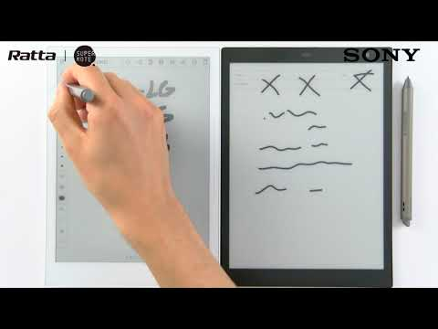 Supernote A5 Vs Sony Digital Paper DPT-CP1
