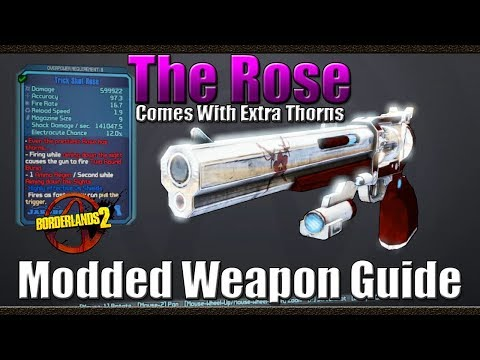 Borderlands 2 | The Rose | Comes with...