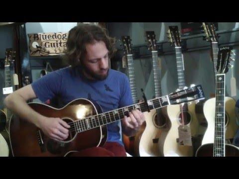 Santa Cruz Guitars H-13 Comparison Video at Bluedog Guitars
