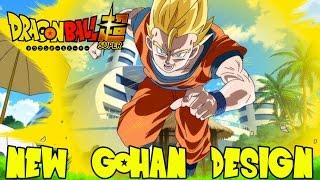 Dragon Ball Super: New Super Saiyan Gohan Character Design! Possibly No More Mystic Transformation?