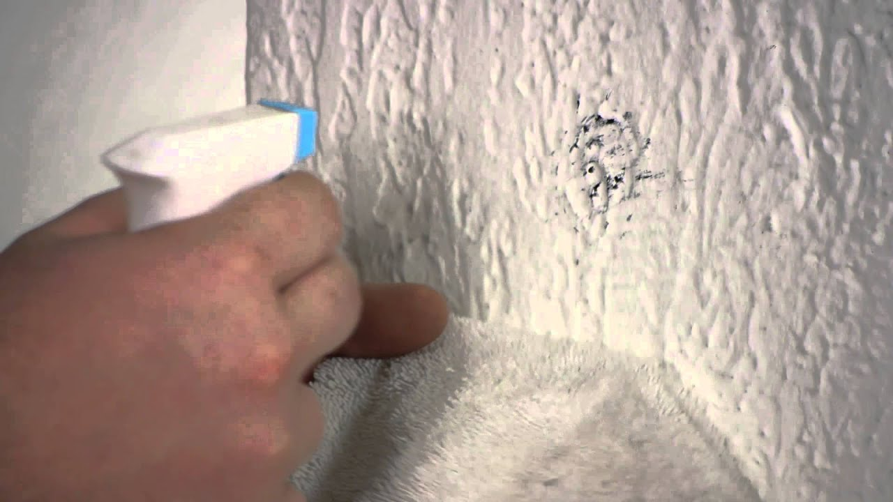 How To Repair Mildew On Plaster Walls : Plaster Walls   YouTube
