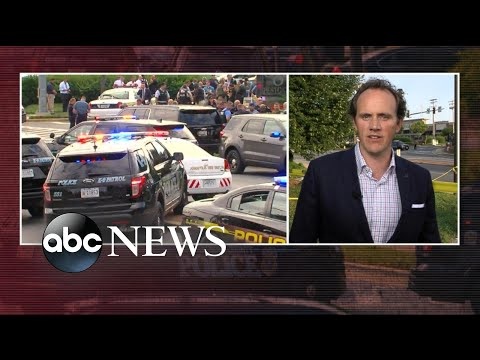 Witness describes deadly Maryland newspaper shooting