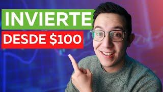 Cómo invertir tus primeros $100 (pesos mexicanos)
