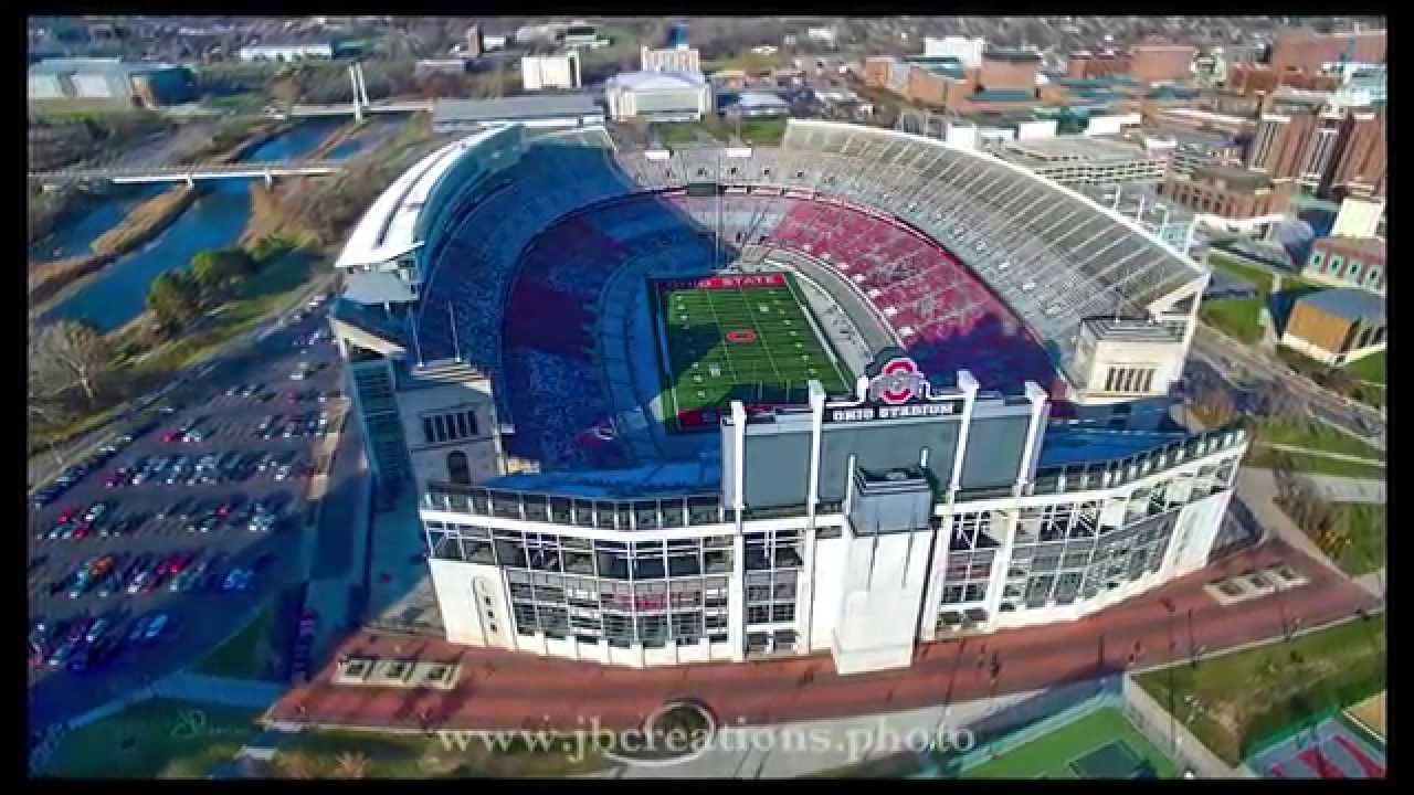 Ohio Stadium Drone Flyover / THE Ohio State University ...