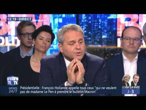 BFM POLITIQUE  du 30/04/17 Xavier BERTRAND