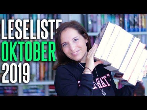 LESELISTE Oktober 2019 | 8 Bücher im want to read | melodyofbooks