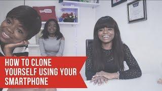 Clone tutorial: How I Clone myself  in a Video Using my Smartphone:
