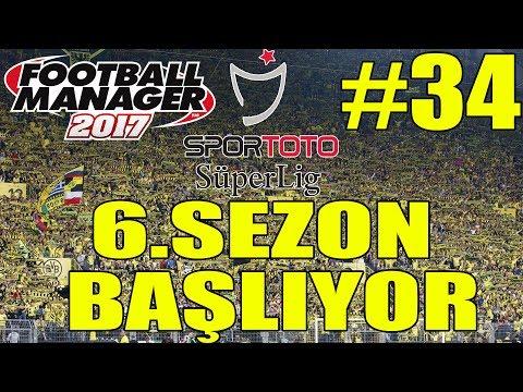 FOOTBALL MANAGER 2017 İSTANBULSPOR KARİYER #34 | 6.SEZONA BAŞLIYORUZ |