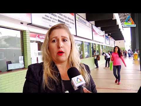 (JC 06/02/18) Preparativos do terminal rodoviário de Varginha para receber passageiros no carnaval.