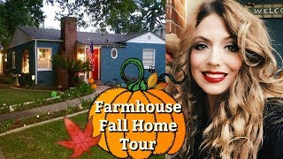 FALL HOME DECOR 2018 | NEW FALL HOME TOUR 2018 / FALL HOME TOUR