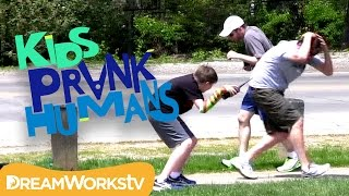 Invisible Airplane | KIDS PRANK HUMANS