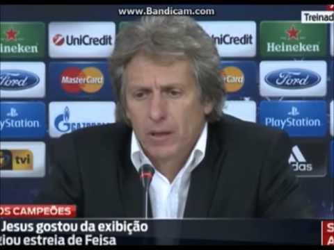Liga dos Campeões 2013/14: Benfica - Anderlecht (2-0) Jorge Jesus gostou da exibição e de Fejsa