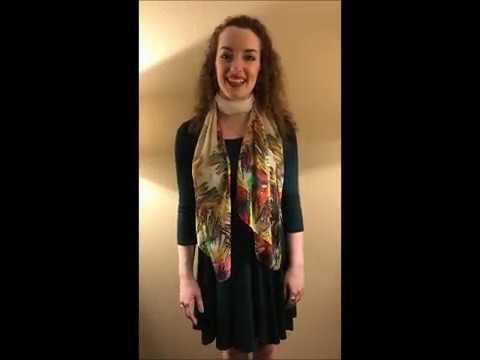 Nebraska Theatre Caravan Grace Taylor Audition 2017