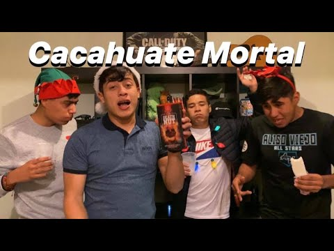 PROBANDO EL CACAHUATE MÁS PICOSO DEL MUNDO!!!
