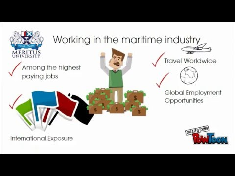 Career Opportunities At Maritime Industry For High School Leavers