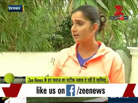Zee Media Exclusive interview with Indian tennis ace Sania Mirza