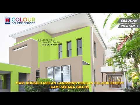 Kombinasi Warna Cat Hijau Bolu Pandan Untuk Rumah 3 Youtube