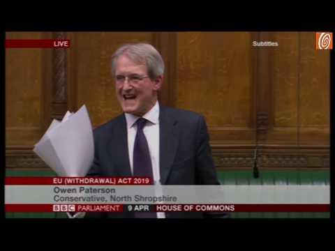 Owen Patterson MP Sets Out The Broken Covenant...