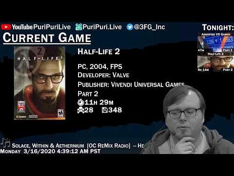 Assorted VR Games [Part 1], Half-Life 2 [Part 2]