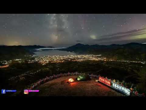 Keindahan wisata Pantan terong saat malam hari - YouTube