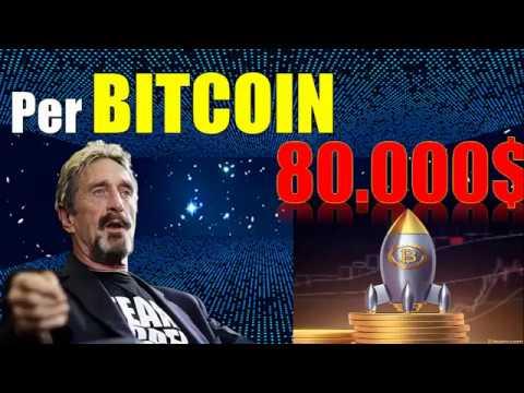 John McAfee  Bitcoin Price Prediction 2018